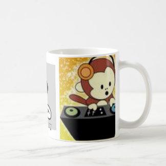 New_DJ_Monkey_Prototype_by_djmonkeyboy, DJ, dj ... Classic White Coffee Mug