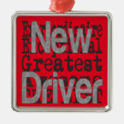 New Driver Extraordinaire Metal Ornament