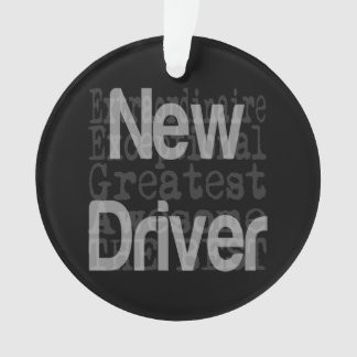 New Driver Extraordinaire Ornament