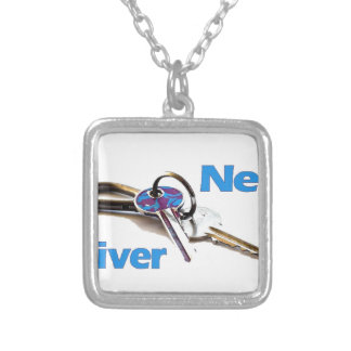 New Driver Silver Plated Necklace