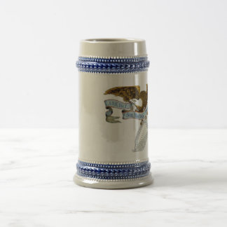 New Eagle AOH logo Beer Stein