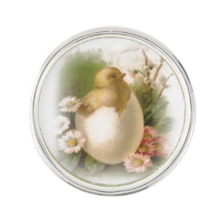 New Easter Chick Lapel Pin