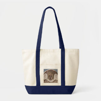 New England Angel Large Tote in Blue