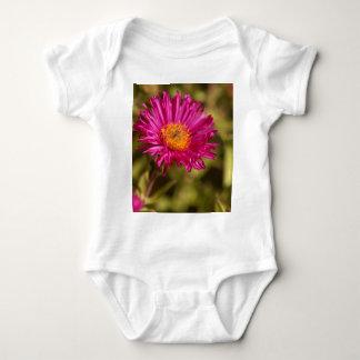 New England aster (Symphyotrichum novae angliae) Baby Bodysuit