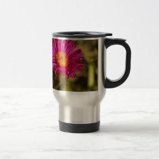New England aster (Symphyotrichum novae angliae) Travel Mug