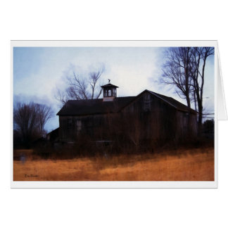 New England Barn Note Card
