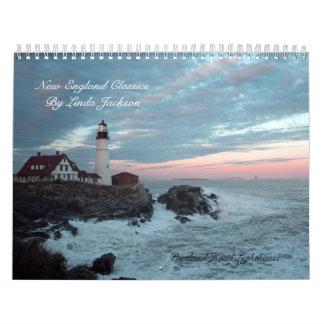 New England Classics Calendar