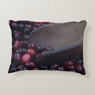 New England Cranberries Throw Pillow