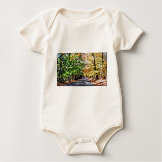 New England Fall Baby Bodysuit