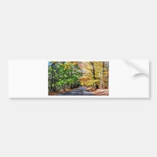 New England Fall Bumper Sticker