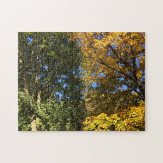 New England Fall Jigsaw Puzzle