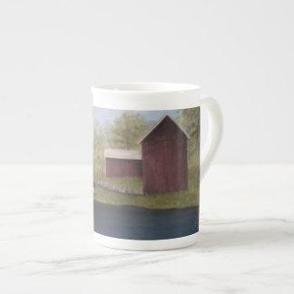 New England Farm Tea Cup