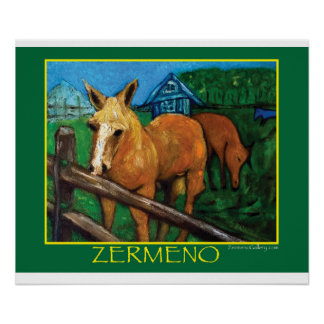 """New England Horses"" by Zermeno Posters"