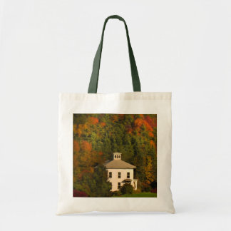 New England House in Autumn Tote Bag