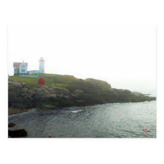 New England Lighthouse Postcard