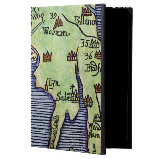 NEW ENGLAND MAP 1677 iPad AIR CASES