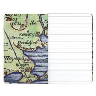 NEW ENGLAND MAP 1677 JOURNALS
