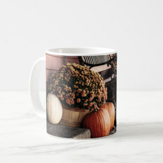 New England Pumpkins in Autumn Coffee Mug