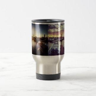 New England Summer Sunsets Travel Mug