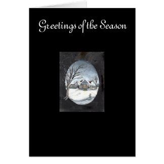 New England Winter Card
