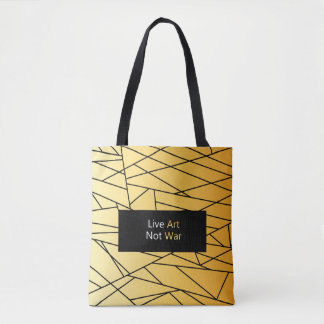 "New exclusive designers bag : ""Live Art"""