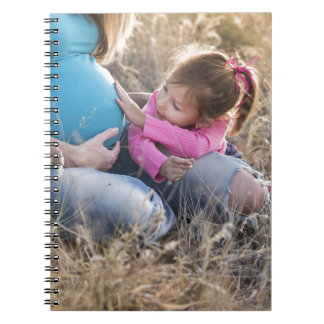New Family Baby Spiral Notebook