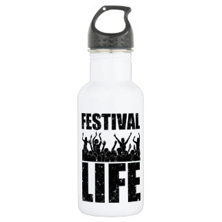 New FESTIVAL LIFE (blk) 532 Ml Water Bottle