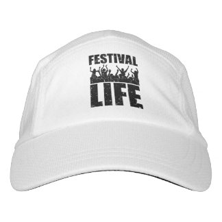 New FESTIVAL LIFE (blk) Headsweats Hat