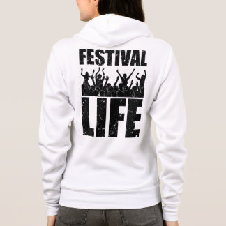 New FESTIVAL LIFE (blk) Hoodie