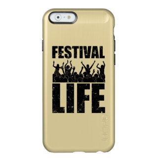 New FESTIVAL LIFE (blk) Incipio Feather® Shine iPhone 6 Case