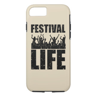 New FESTIVAL LIFE (blk) iPhone 8/7 Case