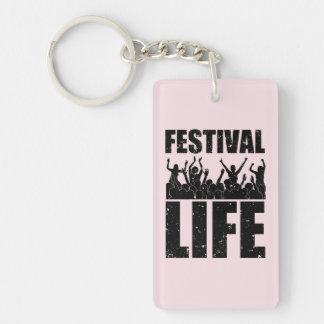 New FESTIVAL LIFE (blk) Keychain