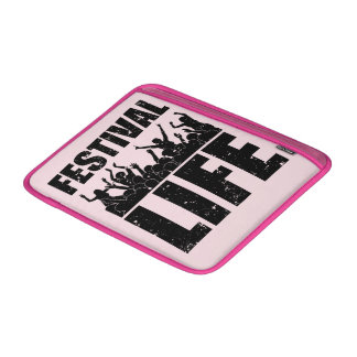 New FESTIVAL LIFE (blk) MacBook Sleeve