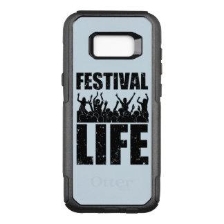 New FESTIVAL LIFE (blk) OtterBox Commuter Samsung Galaxy S8+ Case