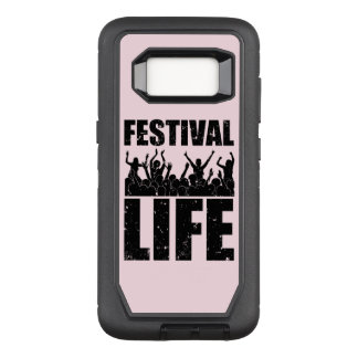 New FESTIVAL LIFE (blk) OtterBox Defender Samsung Galaxy S8 Case
