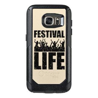New FESTIVAL LIFE (blk) OtterBox Samsung Galaxy S7 Case