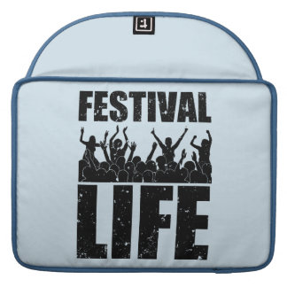 New FESTIVAL LIFE (blk) Sleeve For MacBook Pro
