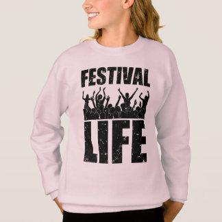 New FESTIVAL LIFE (blk) Sweatshirt