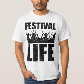 New FESTIVAL LIFE (blk) T-Shirt