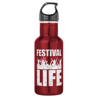 New FESTIVAL LIFE (wht) 532 Ml Water Bottle