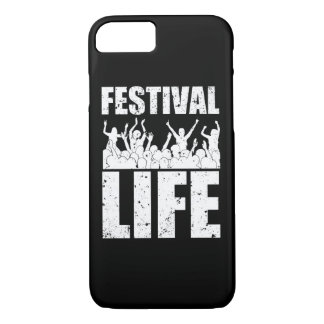 New FESTIVAL LIFE (wht) Case-Mate iPhone Case