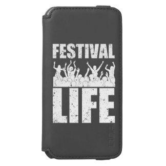 New FESTIVAL LIFE (wht) Incipio Watson™ iPhone 6 Wallet Case