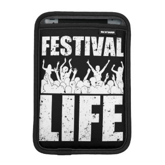 New FESTIVAL LIFE (wht) iPad Mini Sleeves