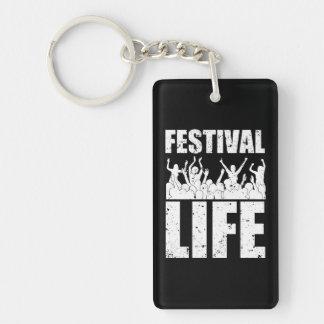 New FESTIVAL LIFE (wht) Keychain