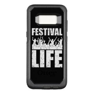 New FESTIVAL LIFE (wht) OtterBox Commuter Samsung Galaxy S8 Case