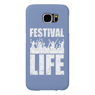 New FESTIVAL LIFE (wht) Samsung Galaxy S6 Cases