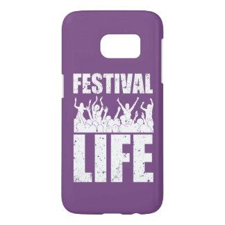 New FESTIVAL LIFE (wht) Samsung Galaxy S7 Case