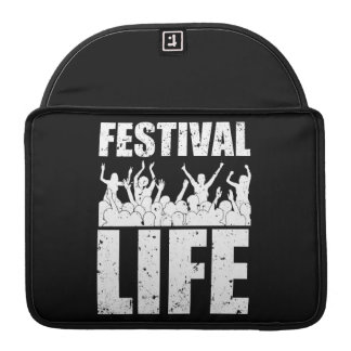 New FESTIVAL LIFE (wht) Sleeve For MacBook Pro