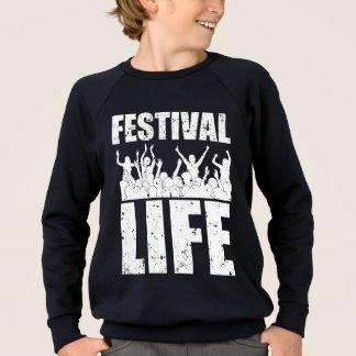 New FESTIVAL LIFE (wht) Sweatshirt