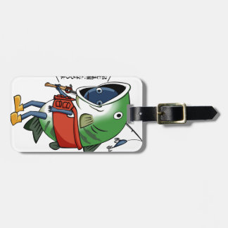 New fisherman English story Kinugawa Tochigi Luggage Tag